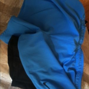 Nike Shorts - Nike Dri-Fit blue shorts